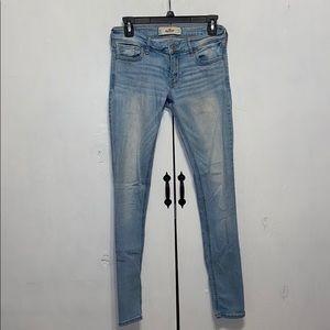 Hollister Jeans - Hollister Super Skinny Light Wash Jean Sz 5 or 27